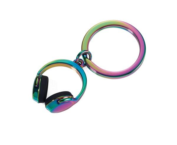 Schlüsselanhänger HEADPHONE Irisierend