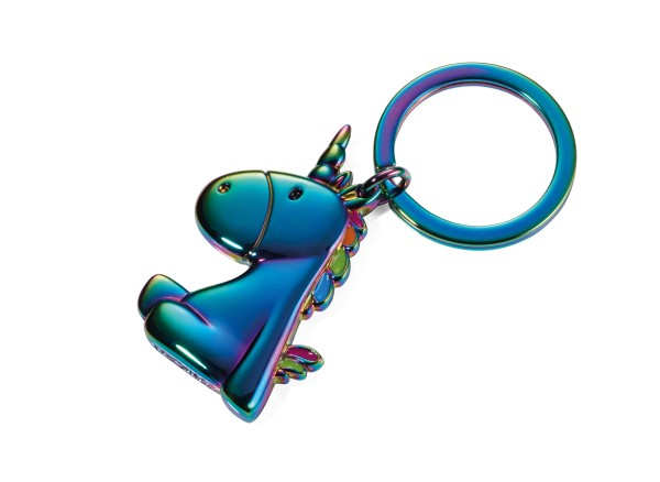 Schlüsselanhänger EINHORN Irisierend