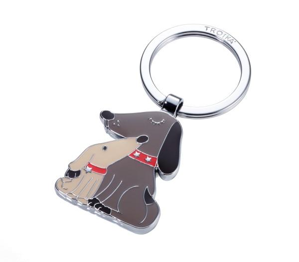 Schlüsselanhänger Hund, Welpe DOG & DOGGY