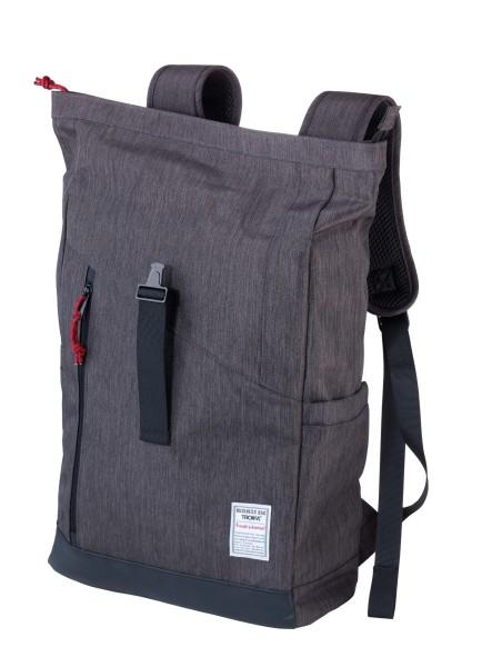 Roll Top Rucksack mit Steckverschluss aus Metall BUSINESS ROLL TOP