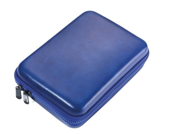 Organizer-Etui mit Reißverschluss BLUE TRAVEL CASE
