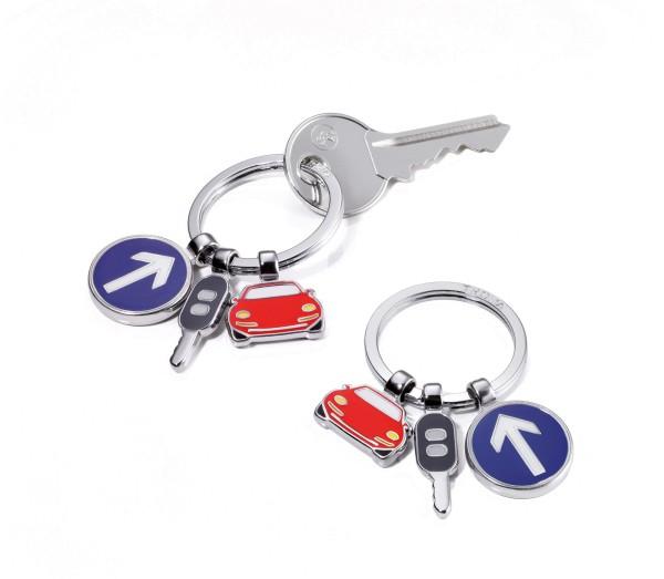 Schlüsselanhänger mit 3 Anhängern ON THE ROAD
