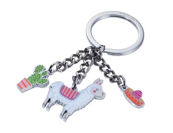 Schlüsselanhänger mit 3 Anhängern PAKO