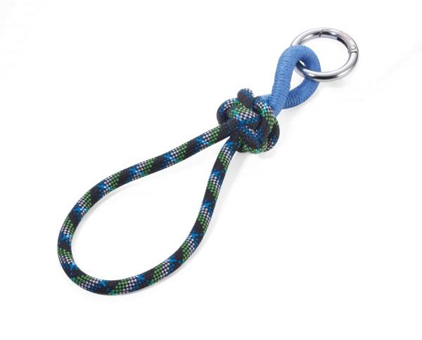 Schlüsselband aus Segelseil mit dekorativem Knoten CORDULA