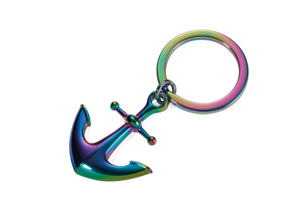 Schlüsselanhänger HEIMATHAFEN Irisierend