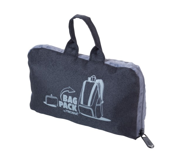 Rucksack faltbar (platzsparend im Außenfach verstaubar) BAGPACK
