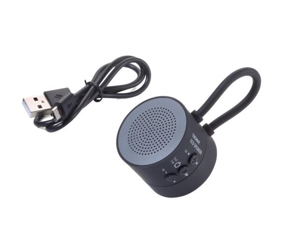Mini-Lautsprecher/Freisprecheinrichtung für Sport und Freizeit, kabellos, mit starkem Magnet zur Bef