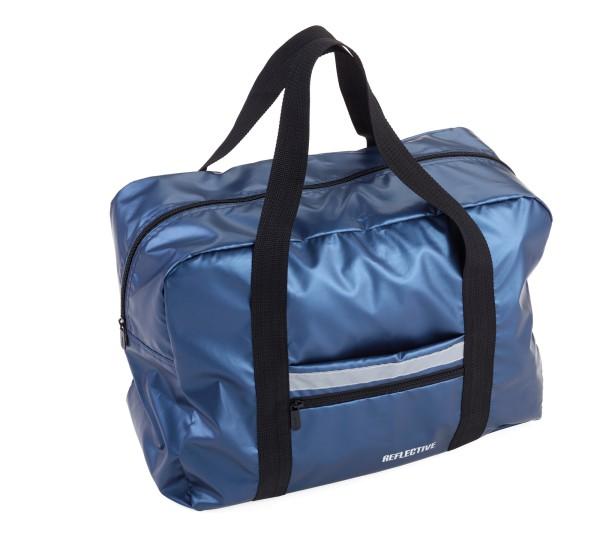 Reisetasche faltbar (platzsparend in Außentasche verstaubar) TRAVEL PACK REFLECTIVE