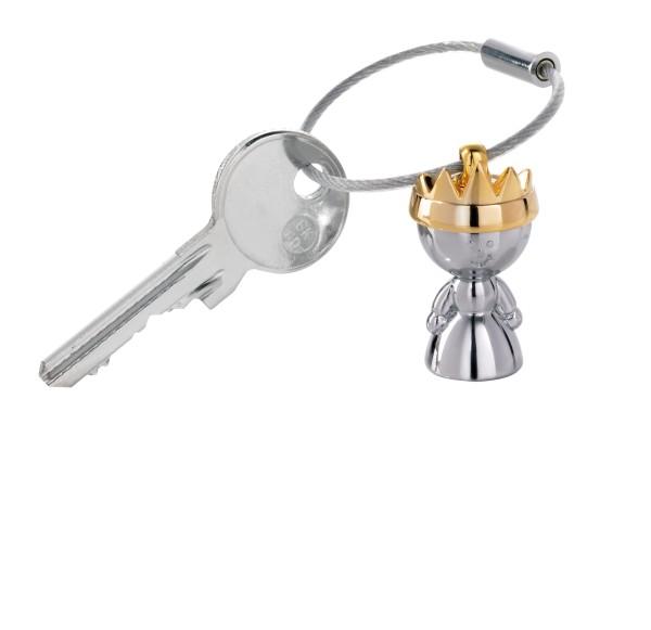 Schlüsselanhänger mit goldener Krone LITTLE QUEEN