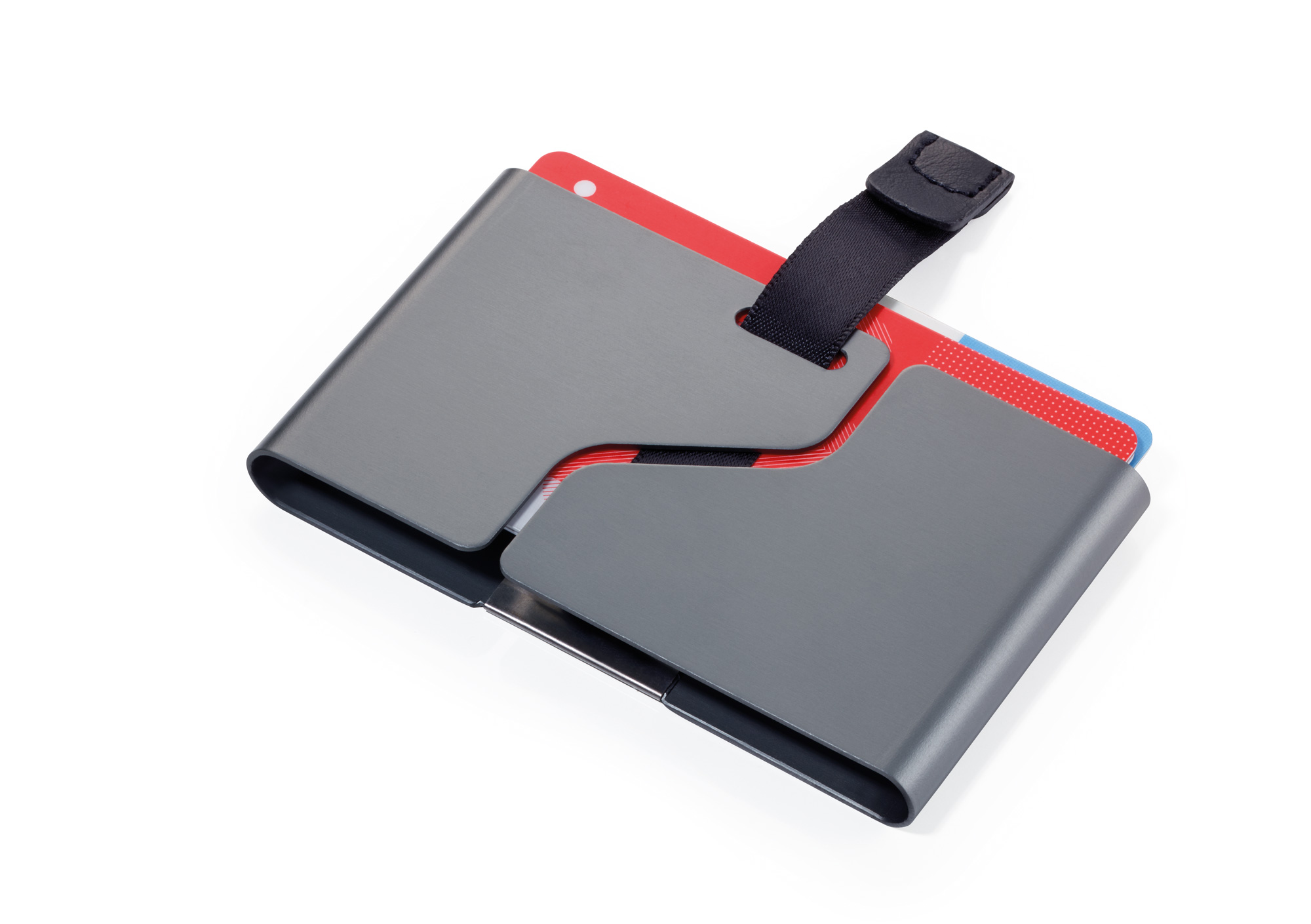 c22ea915e18db ... Credit card case with flap to pull out cards GET OUT - Credit Card Cases  ...