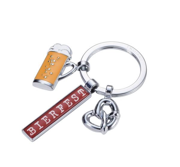 Schlüsselanhänger mit 3 Anhängern TROIKA BIERFEST