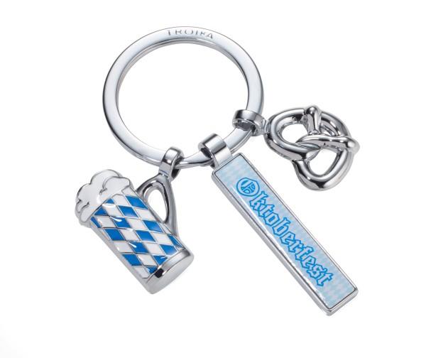 Schlüsselanhänger mit 3 Anhängern TROIKA OKTOBERFEST